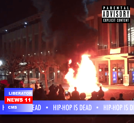 "New Liberator Track ""Hip-Hop is Dead"" Anti-SJW, Anti-Leftist Awesomeness."